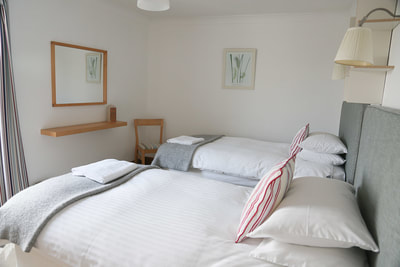 Bedroom, Ty Dafydd, Newport Pembs Holiday Cottage