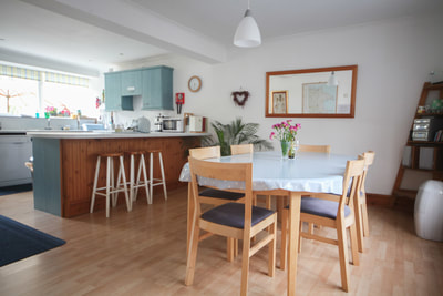 Kitchen, Ty Dafydd, Newport Pembs Holiday Cottage